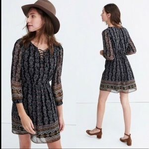 Madewell Woodland Dress in Artisan Floral Size: 2